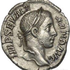 Monedas Imperio Romano: IMPERIO ROMANO - AR DENARIUS, ALEJANDRO SEVERO, 222-235 N.C - RIC: 91 FF.. Lote 182285292