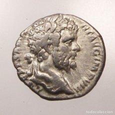 Monedas Imperio Romano: IMPERIO ROMANO - AR DENARIUS, SEPTIMIUS SEVERUS (AD 193 - 211). AD 196-197 - INDULGENTIA - PLATA. Lote 182286220