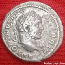 Monedas Imperio Romano: CARACALLA.(DENARIO. IMPERIO ROMANO). {198-217 DC} LIBERALITAS AVG VI. AUTÉNTICO 100%. Lote 161676396