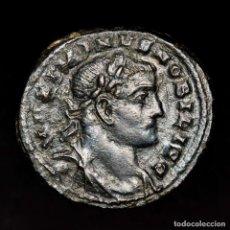 Monedas Imperio Romano: MAXIMINO II NOBILISIMO CESAR FOLLIS LONDON GENIO POPVLI ROMANI (VC). Lote 182890001