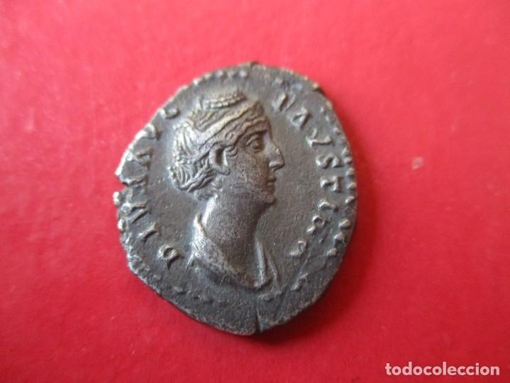 IMPERIO ROMANO. DENARIO DE FAUSTINA I. 138/141 DC. #SG (Numismática - Periodo Antiguo - Roma Imperio)