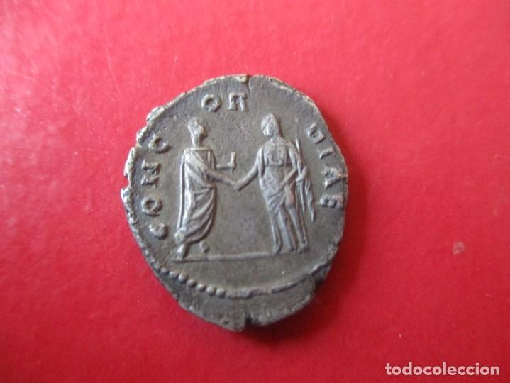 Monedas Imperio Romano: Imperio romano. denario de Faustina I. 138/141 dc. #SG - Foto 2 - 183003443