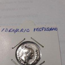 Monedas Imperio Romano: DENARIO DE VESPASIANO (69-79P D.C) MUY BONITA.. Lote 183630020