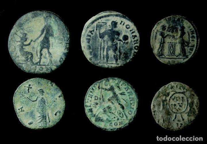 Monedas Imperio Romano: Lote de 6 Monedas Romanas. - Foto 2 - 183846040