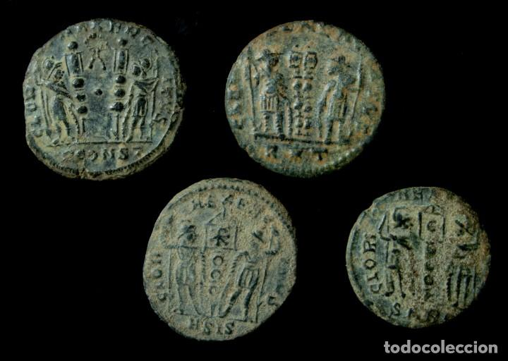 Monedas Imperio Romano: Lote de 4 Monedas Romanas. - Foto 2 - 183846466