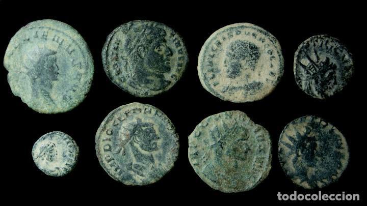 LOTE DE 8 MONEDAS ROMANAS. (Numismática - Periodo Antiguo - Roma Imperio)