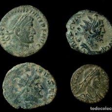 Monedas Imperio Romano: LOTE DE 4 MONEDAS ROMANAS.. Lote 183846966