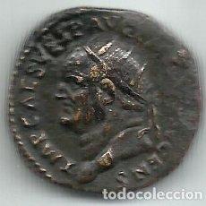 Monedas Imperio Romano: VESPASIANO - DUPONDIO (FELICITAS) - ROMA 74 D C. - EBC. Lote 183893821