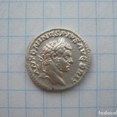 Monedas Imperio Romano: IMPERIO ROMANO - AR DENARIUS, CARACALLA (198-217AD). Lote 184077401