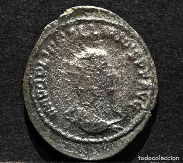 Monedas Imperio Romano: ANTONINIANO DE GALIENO SAMOSATA 256-8 D.C. - Foto 2 - 165089322