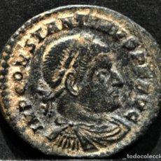 Monedas Imperio Romano: FOLLIS CONSTANTINO MAGNO ARLES FRANCIA 1ª OFICINA SOLI INVITO COMITI. Lote 167587160