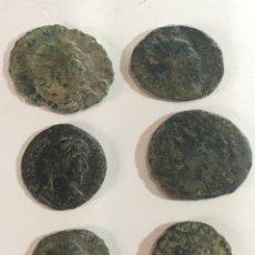 Monedas Imperio Romano: LOTE DE 6 MONEDAS ROMANAS BAJO IMPERIOS. Lote 184624262