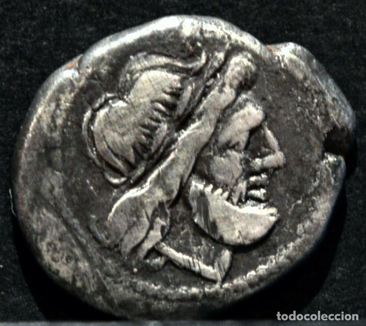Monedas Imperio Romano: QUINARIO ANÓNIMO ROMA VICTORIATO (211-206 A.C) - Foto 2 - 86655188