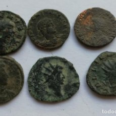 Monedas Imperio Romano: LOTE 6 BRONCES ROMANOS. Lote 184798827