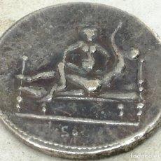 Monedas Imperio Romano: RÉPLICA FICHA ERÓTICA SPINTRIA. REPÚBLICA IMPERIO DE ROMA. SIGLO I D.C. Nº XVI. KAMASUTRA ROMANO. Lote 186306412