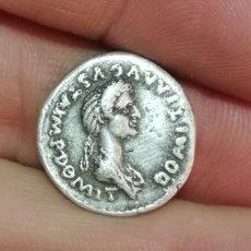 Monedas Imperio Romano: DENARIO DE DOMITIA. Lote 187394897