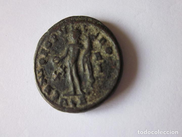 Monedas Imperio Romano: Follis de Constancio I. Genio populi romani. - Foto 2 - 188362031