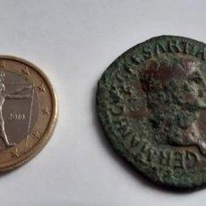 Monedas Imperio Romano: MONEDA ROMANA BRONCE GERMANICUS CAESAR TI AVG. Lote 188790220