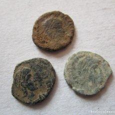 Monedas Imperio Romano: LOTE DE 3 MONEDAS BAJOIMPERIALES. Lote 191074571