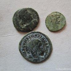 Monedas Imperio Romano: LOTE DE 3 MONEDAS BAJOIMPERIALES. Lote 191074845