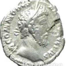 Monedas Imperio Romano: IMPERIO ROMANO. CÓMODO (170-192 D.C.). DENARIO. VICTORIA. Lote 191246248