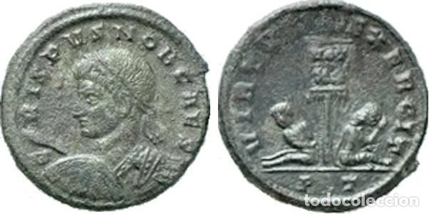 Monedas Imperio Romano: IMPERIO ROMANO. CRISPO. FOLLIS 19 mm. VIRTVS EXERCIT - Foto 3 - 191349008