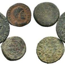 Monedas Imperio Romano: LOTE DE 5 MONEDAS ANTIGUAS. ESCASAS. Lote 192649566