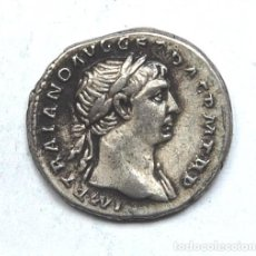 Monedas Imperio Romano: DENARIO ROMANO 103-112 DC TRAJANO EBC-. Lote 194203226