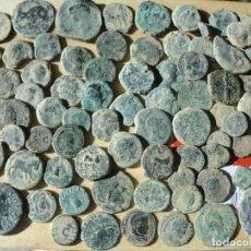 Monedas Imperio Romano: LOTE DE 79 MONEDAS ANTIGUAS DE VARIAS EPOCAS.. Lote 194213531