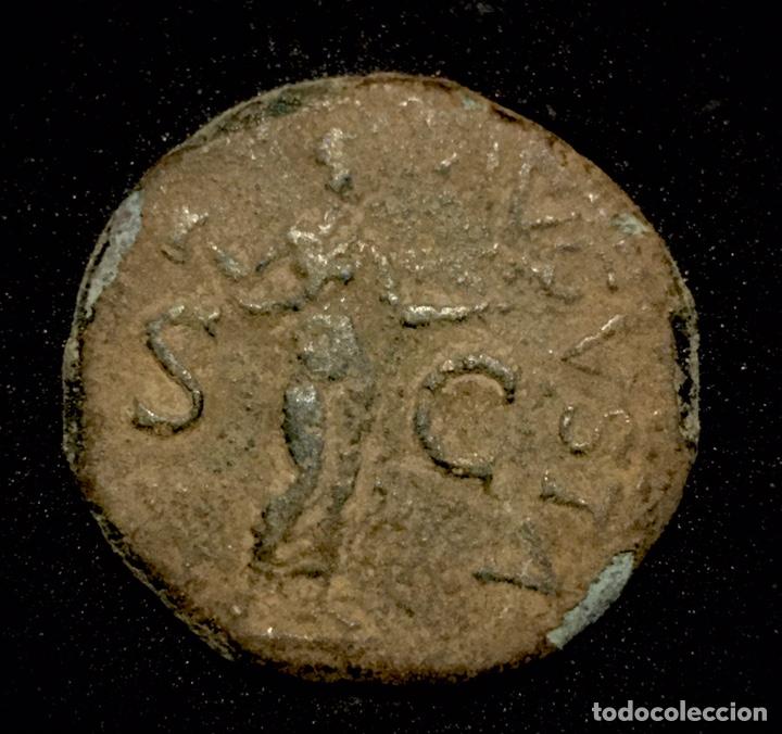 AS- CLAUDIO (Numismática - Periodo Antiguo - Roma Imperio)