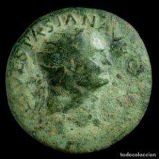 Monedas Imperio Romano: AS DE VESPASIANO - SC - 27MM / 11.42 GR.. Lote 194288182