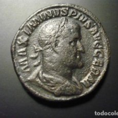 Monedas Imperio Romano: MAXIMINO, TRACIO, SESTERCIO. Lote 194364241