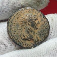 Monedas Imperio Romano: DUPONDIO DE TRAJANO PESO 10,52GR. Lote 194488078