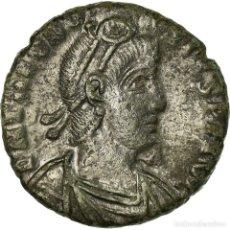 Monedas Imperio Romano: MONEDA, THEODOSIUS I, MAIORINA, ROMA, MBC, COBRE. Lote 194708048