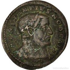 Monedas Imperio Romano: MONEDA, CONSTANTIUS I, FOLLIS, 302-303, TRIER, MBC, VELLÓN, RIC:530A. Lote 194713371