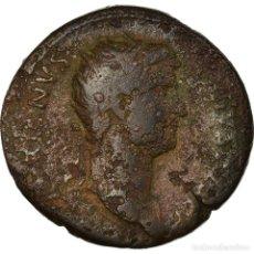 Monedas Imperio Romano: MONEDA, HADRIAN, DUPONDIUS, 128-132, ROMA, BC+, BRONCE. Lote 194719897