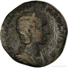 Monedas Imperio Romano: MONEDA, JULIA MAMAEA, SESTERCIO, 230, ROMA, BC+, COBRE, RIC:679. Lote 194721151