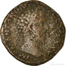 Monedas Imperio Romano: MONEDA, MARCUS AURELIUS, SESTERCIO, 171, ROMA, BC+, COBRE. Lote 194731013