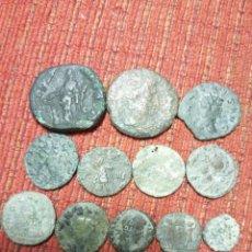 Monedas Imperio Romano: 12 MONEDAS ROMANAS ANTIGUAS A IDENTIFICAR . Lote 194780128