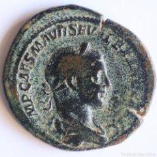 Monedas Imperio Romano: ENORME SESTERCIO ALEJANDRO SEVERO LIBERALITAS ROMA. Lote 194836368