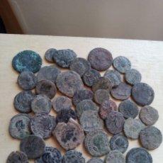 Monedas Imperio Romano: LOTE DE 42 MONEDAS DEL BAJO IMPERIO.. Lote 194860870
