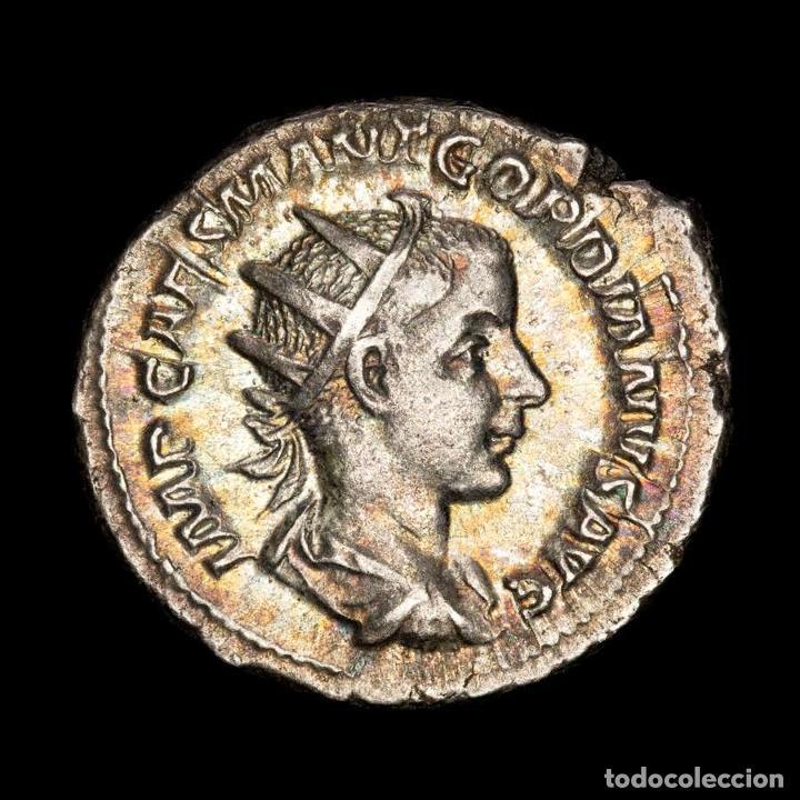 EBC GORDIANO III 238-244 ANTONINIANO ROMA FIDES MILITVM (126-SAD) (Numismática - Periodo Antiguo - Roma Imperio)