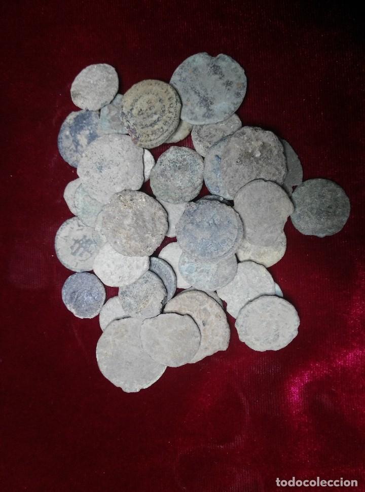 LOTE DE 40 MONEDAS ROMANAS (Numismática - Periodo Antiguo - Roma Imperio)
