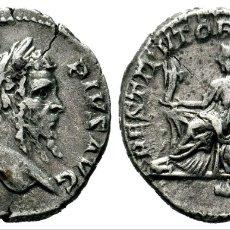 Monedas Imperio Romano: SEPTIMIUS SEVERUS, DENARIO 193-211. 3,43 GR 19,50 MM. Lote 194904832