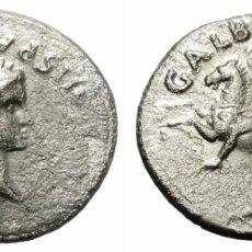 Monedas Imperio Romano: DENARIO PLATA IMPERIO ROMANO GALBA - HISPANIA AÑO 68 Y 69 -SIGLO I. Lote 194920203