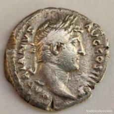 Monedas Imperio Romano: DENARIO PLATA IMPERIO ROMANO ADRIANO AÑO 136 DC. RESTITVTORI HISPANIAE. Lote 194926283