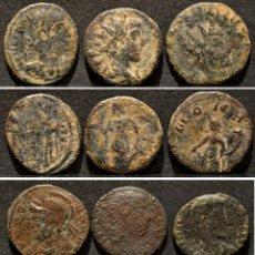 Monedas Imperio Romano: LOTE 6 MONEDAS ROMA BAJO IMPERIO FOLLIS NUNMUS. Lote 194958835