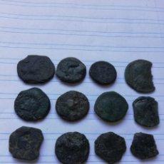 Monedas Imperio Romano: LOTE 13 IBERICAS A LIMPIAR. Lote 195137342