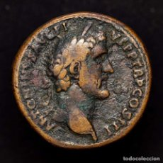 Monedas Imperio Romano: IMPERIO ROMANO - ANTONINO PIO, SESTERCIO. ROMA. ITALIA. S-C. RARO!. Lote 195182375