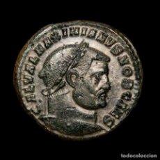 Monedas Imperio Romano: GALERIO CESAR FOLLIS PLATEADO GENIO POPVLI ROMANI / HTΓ HERACLEA. Lote 195183907